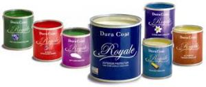 Varieties of the Duracoat paints PHOTO:COURTESY