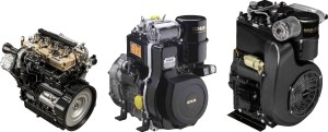 A selection of Kohler diesel engines PHOTO/COURTESY