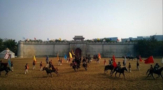 Horseback Battle show