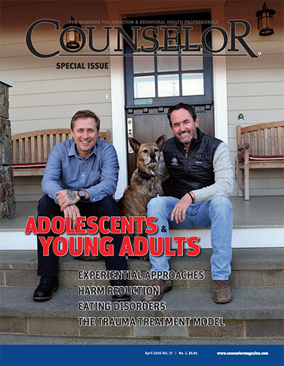 Therapist DJ Laing on Counselor Magazine