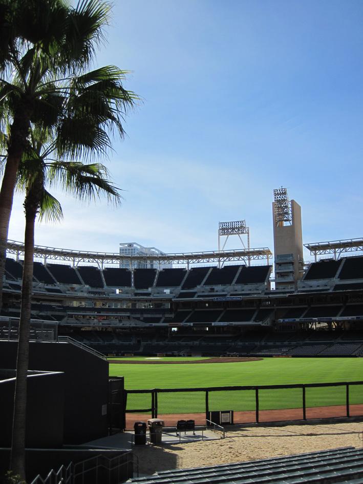 San Diego, de toerist uithangen