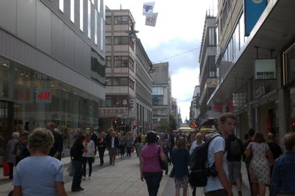 Stockholm, Zweden, het land van H&M