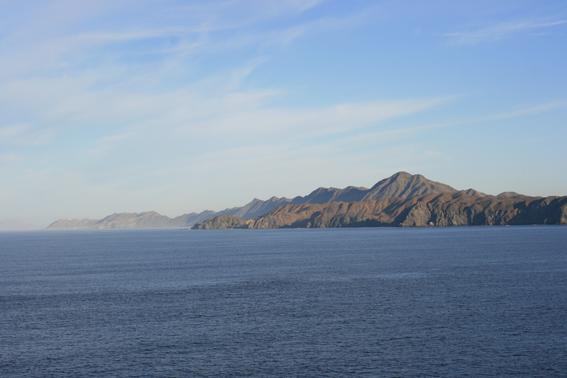 Op zee, Bahia Magdelena