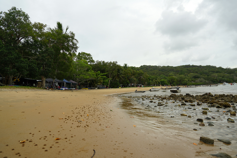 1770, Australië. Waar Captain Cook voor de tweede keer aan wal kwam.