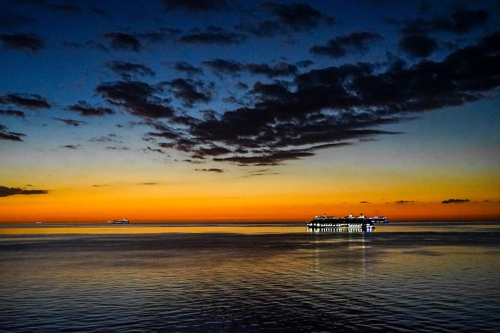 Cruise Pauze   Dag 12, Grand Bahama Anchorage