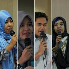 Sejumlah blogger yang hadir