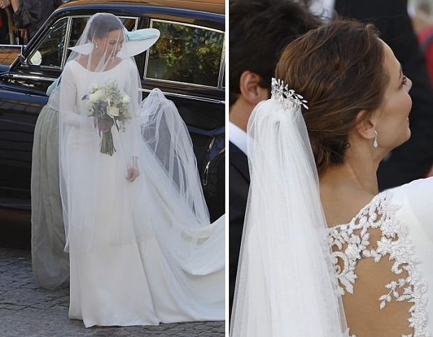 Vestido novia eva gonzalez