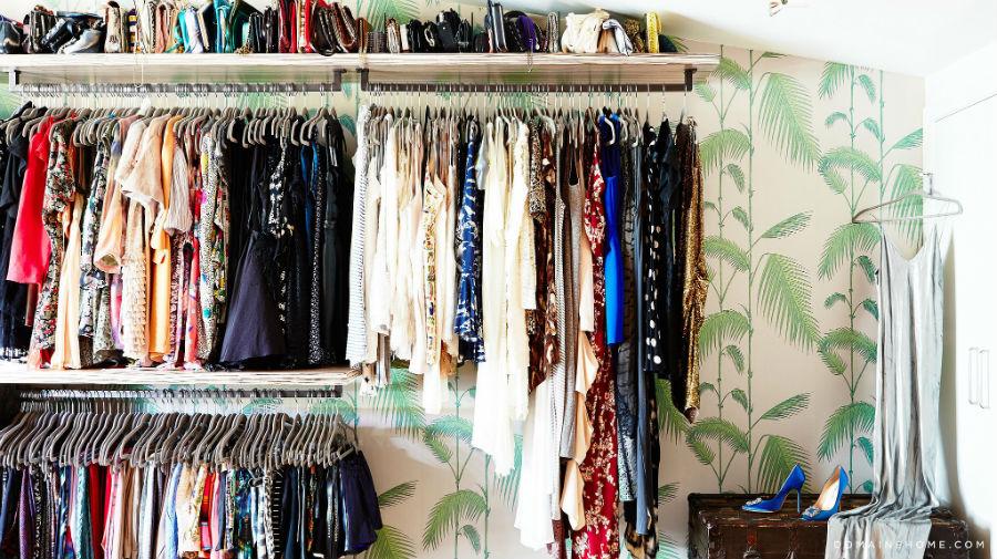 15 ideas geniales para acomodar un cl set peque o for Como hacer un closet moderno