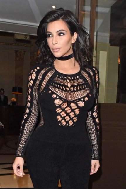 Mandatory Credit: Photo by Beretta/Sims/REX (4459278i) Kim Kardashian Kim Kardashian out and about, London, Britain - 25 Feb 2015