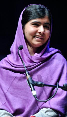 Malala Yousafzai, activista