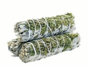 Atado de Salvia Blanca y Cedro