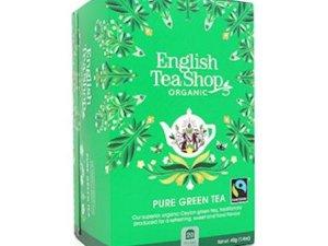 Té verde puro orgánico