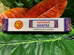 Inciensa Espiritual Mantra