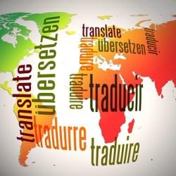 Illustrierter Globus - Übersetzungsagentur