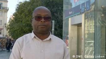 Gabriel Chimuco, presidente da Associação de Apoio aos Doentes Angolanos em Portugal