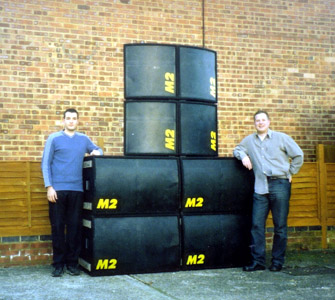 Neil, Ben, and 8 M2 boxes