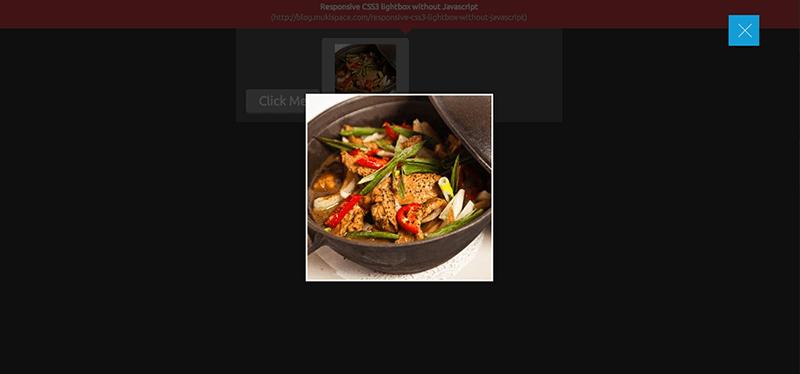 利用純 CSS3 做出自適應的 lightbox