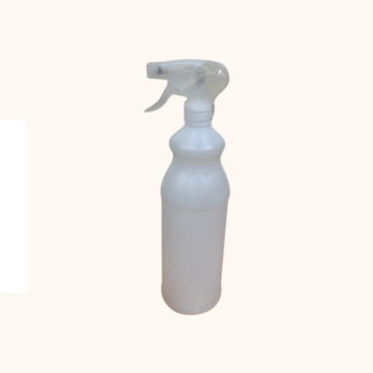 1L empty bottle and trigger spray