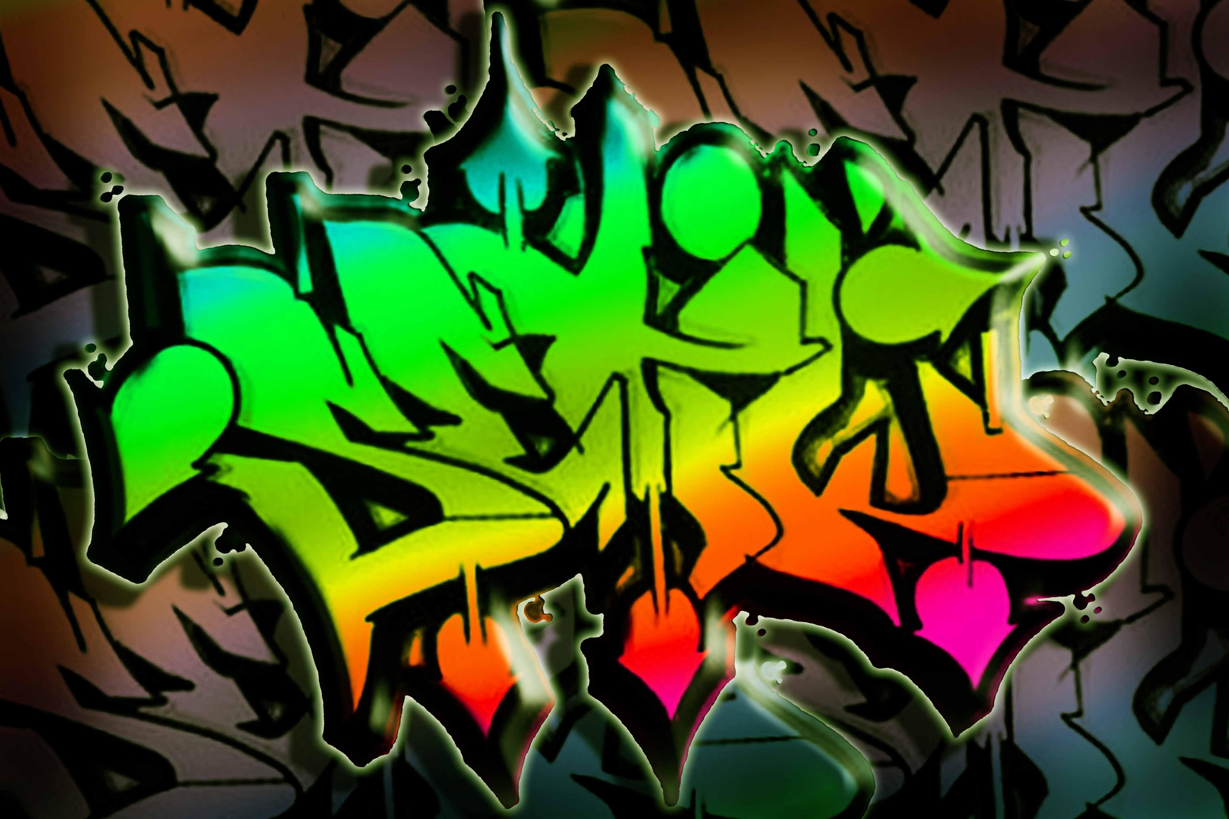 graffiti reggae colouring page 3