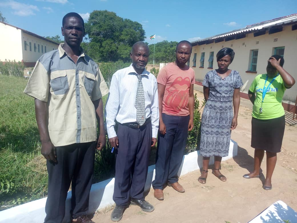 Secondary school staff