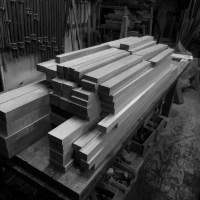作品展用の木取り