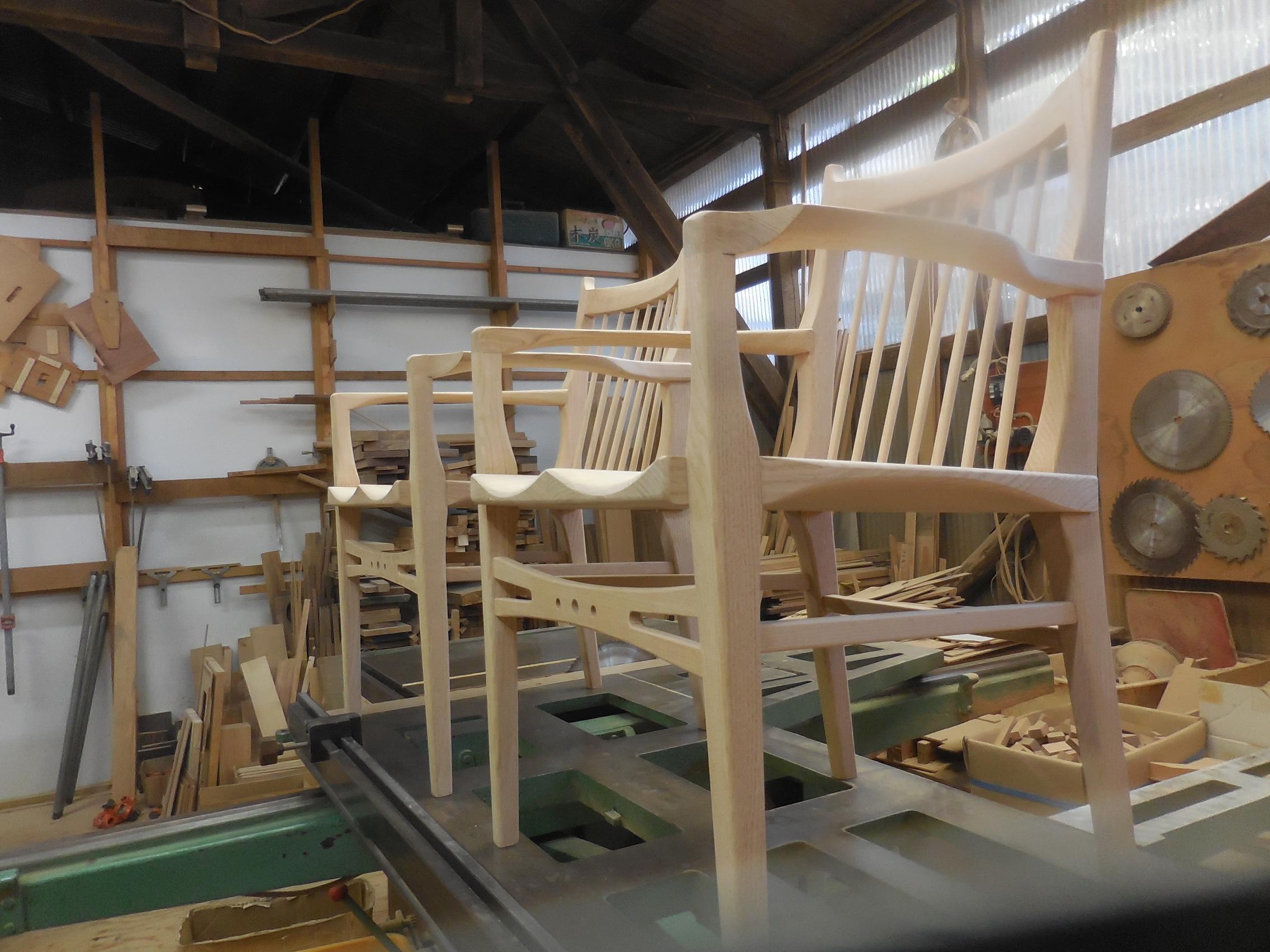 肘掛け椅子
