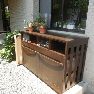ゴミ箱収納家具