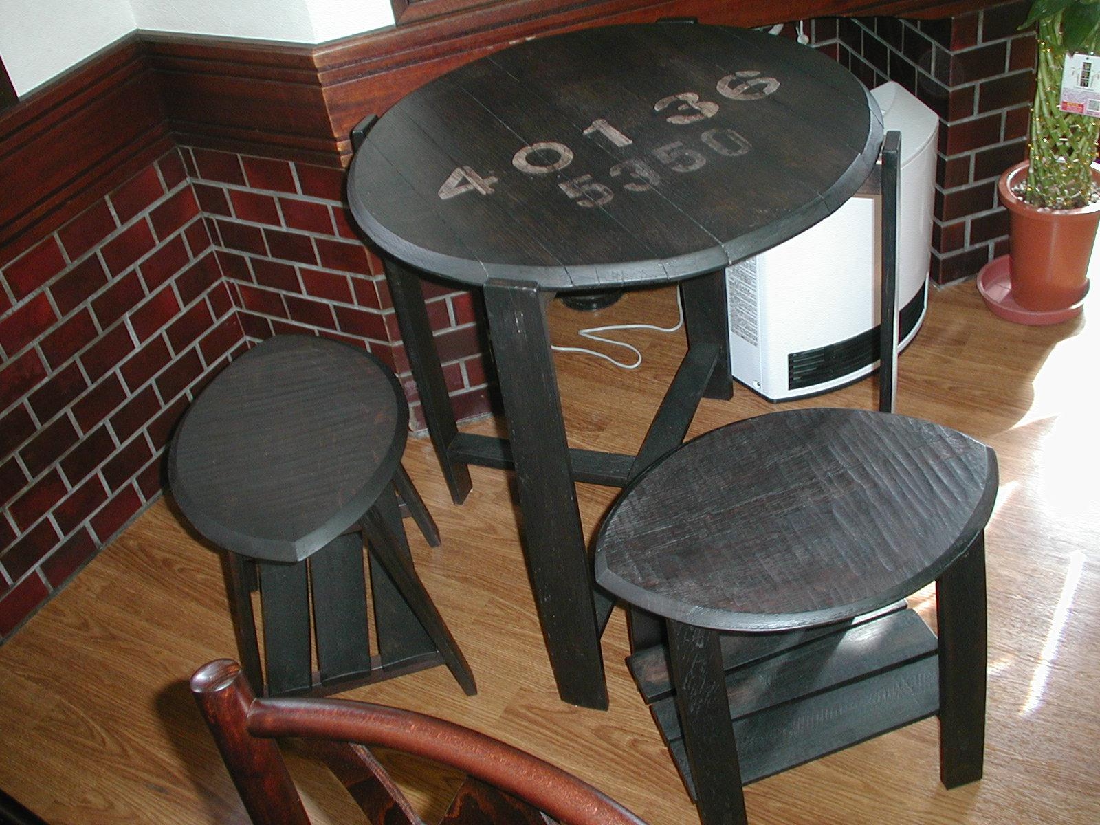 樽テーブル