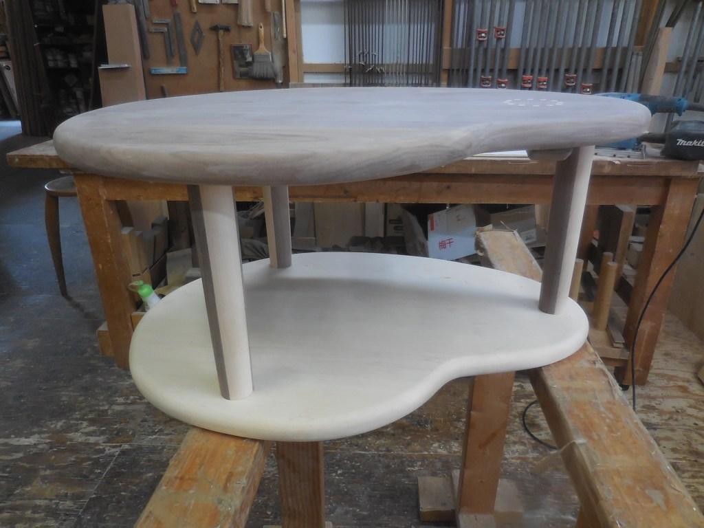 白黒テーブル