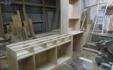 食器棚 組み立て 完了