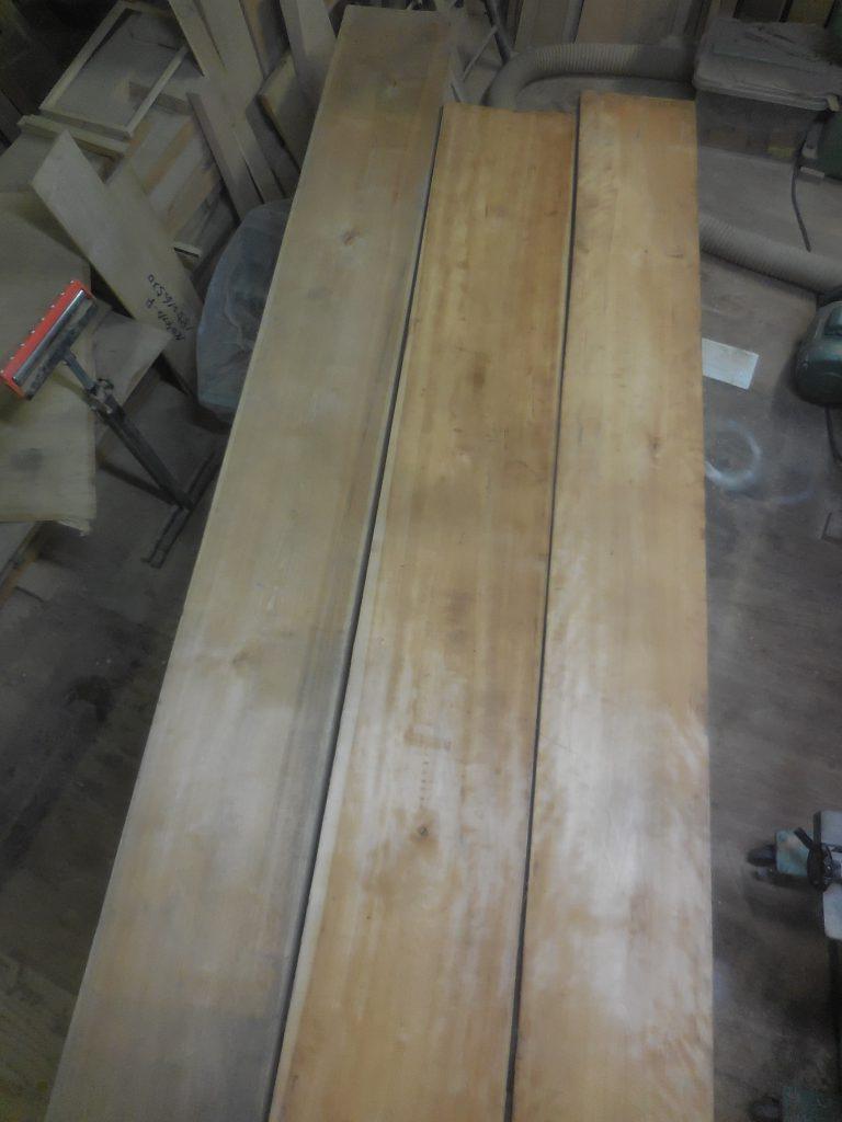 ダイニングテーブル 真樺材