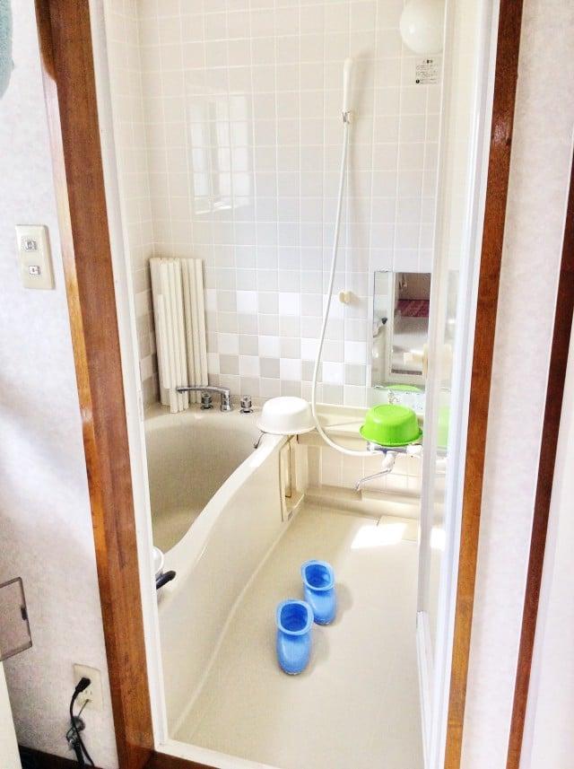 むつ市松森町住宅の浴室