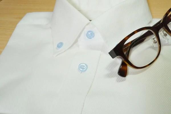 Diagonal Sheerのシャツ