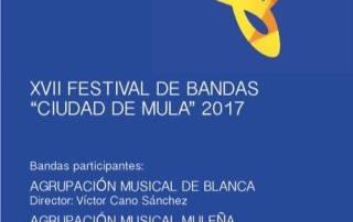 """xvii festival de bandas """"ciudad de mula"""" 2017"""