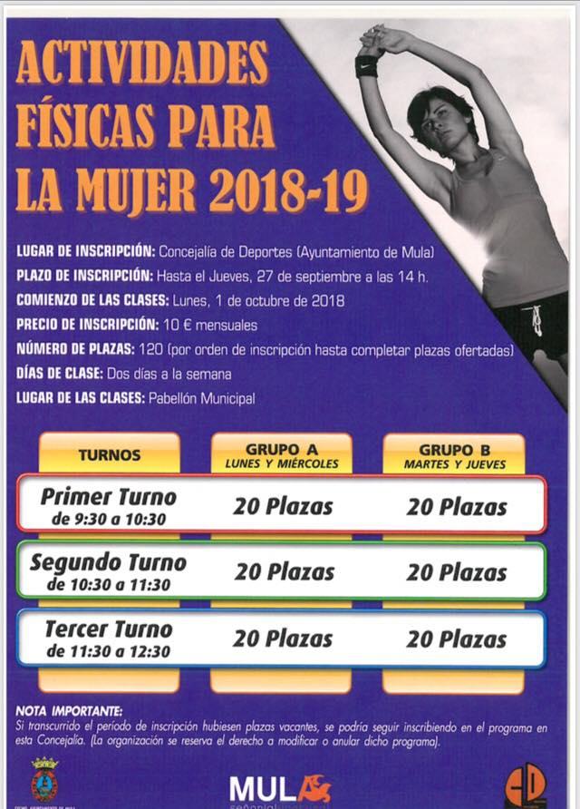 actividades fisicas mujer 201819