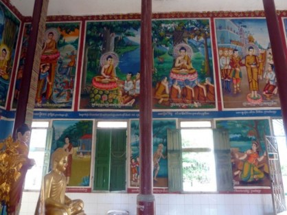 stung treng temple intérieur