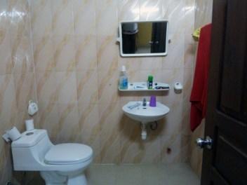 Cham Roan Leap Guesthouse toilette