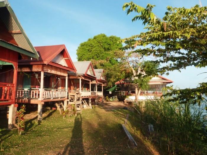 Laos, Don Det, Mr Phao riverview guesthouse