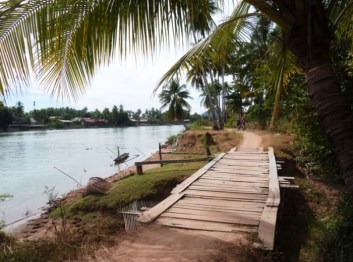 Laos, Don Det et ses chemins