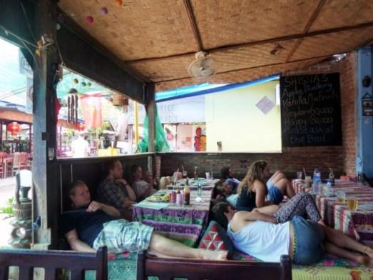 Laos, les cafés de Don Det