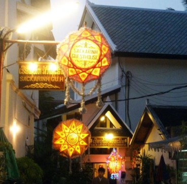 Laos, magasins de Luang Prabang