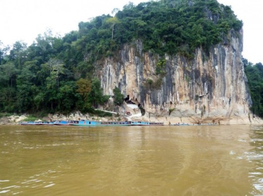Laos, Luang Prabang grotte de Pak Ou