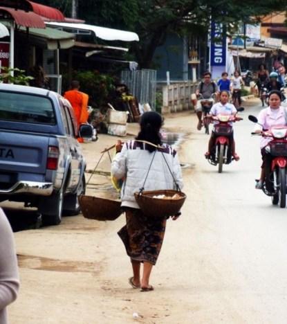Laos, les rues de Luang Prabang