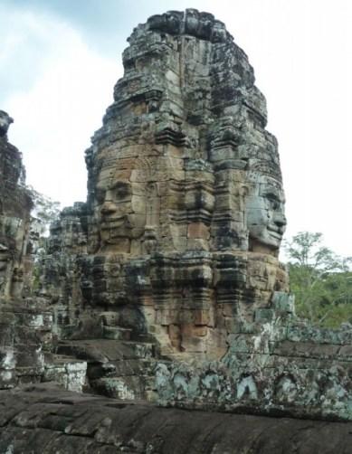 Temple de Bayon - Visage statue