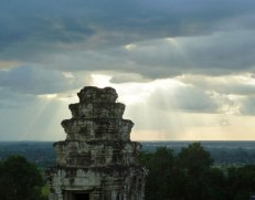 Cambodge, Temple d'Angkor PHNOM BAKHENG