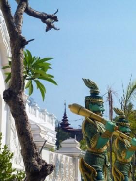 Statue profil Kyauktawgyi Mandalay