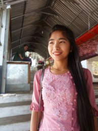 Jeune Birmane