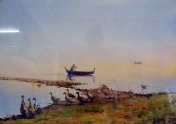 Mandalay oil painting
