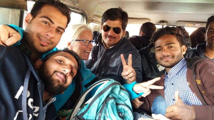 Transport d'Amritsar à la frontière de Wagah