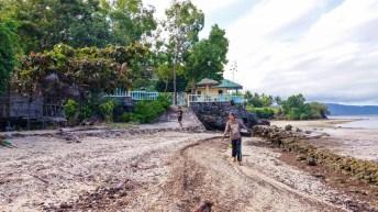 Plage de Larena Sandugan sur l'île de Siquijor aux Philippines